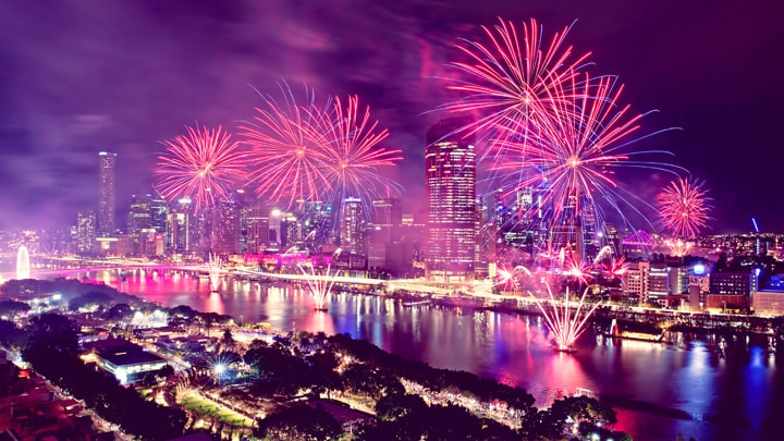 How To Attend The 2018 Brisbane Riverfire